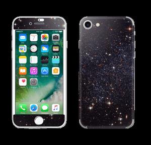 Sort Galakse Skin IPhone 7
