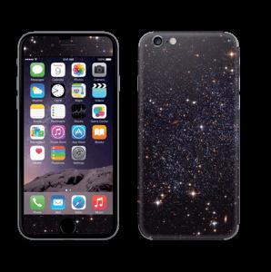 Sort Galakse Skin IPhone 6/6s