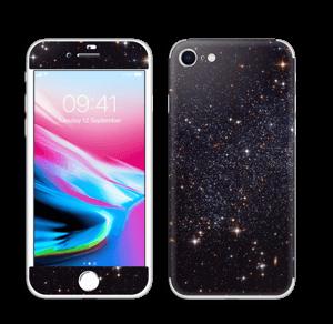 Sort Galakse Skin IPhone 8
