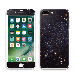 Sort Galakse Skin IPhone 7 Plus