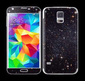 Sort Galakse Skin Galaxy S5