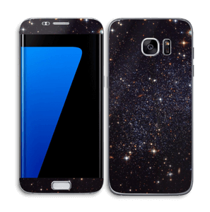 Sort Galakse Skin Galaxy S7 Edge