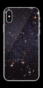 Sort Galakse Skin IPhone X