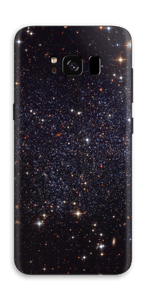 Sort Galakse Skin Galaxy S8