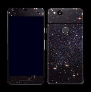 Sort Galakse Skin Pixel 2