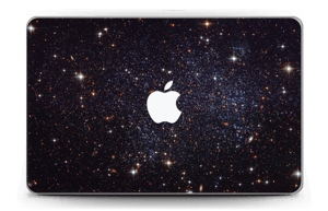 """Sort Galakse Skin MacBook Air 11"""""""
