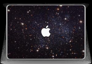 "Sort Galakse Skin MacBook Pro 13"" -2015"
