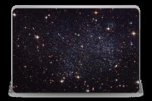 Sort Galakse Skin Laptop 15.6