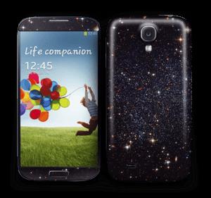 Sort Galakse Skin Galaxy S4