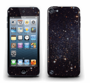Sort Galakse Skin IPod Touch 5th Gen