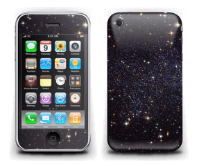 Sort Galakse Skin IPhone 3G/3GS