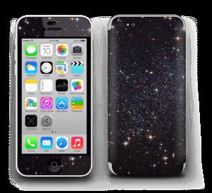 Sort Galakse Skin IPhone 5c