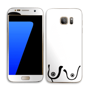 Grafiske bryst Skin Galaxy S7