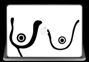 """Grafiske bryst Skin MacBook Pro Retina 15"""" 2015"""