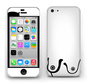 Grafiske bryst Skin IPhone 5c
