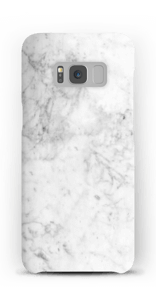 White Icy Stone case Galaxy S8