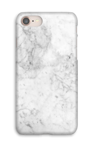 White Icy Stone case IPhone 8