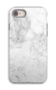 White Icy Stone case IPhone 8 tough