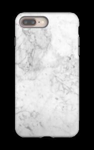 Branco gelado Capa IPhone 8 Plus tough