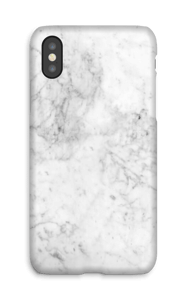 White Icy Stone deksel IPhone X