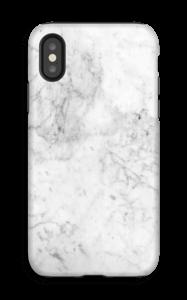 White Icy Stone case IPhone X tough