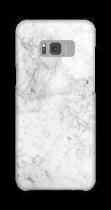 White Icy Stone case Galaxy S8 Plus