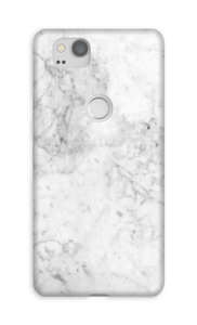 White Icy Stone case Pixel 2