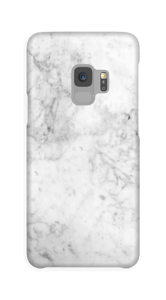 White Icy Stone case Galaxy S9