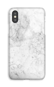 White Icy Stone deksel IPhone XS