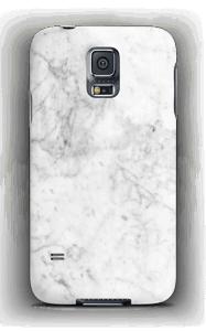 White Icy Stone case Galaxy S5