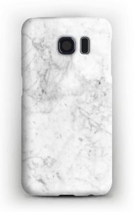 White Icy Stone case Galaxy S6