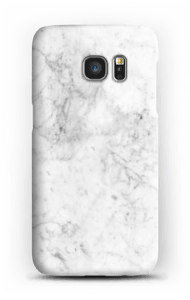 White Icy Stone case Galaxy S7