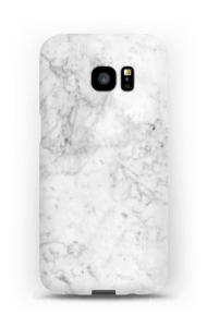 White Icy Stone case Galaxy S7 Edge