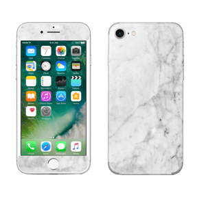 Branco gelado Skin IPhone 7