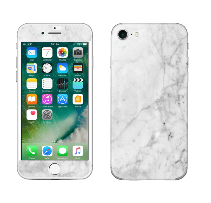 Blanc glacé Skin IPhone 7