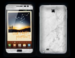 Icy White Skin Galaxy Note