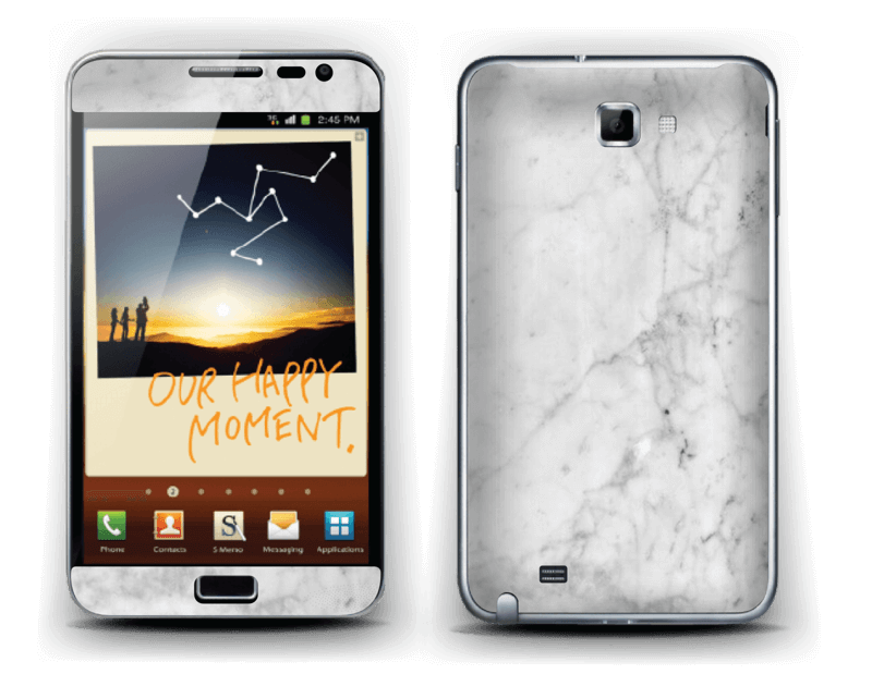 Icy Marble Skin Galaxy Note