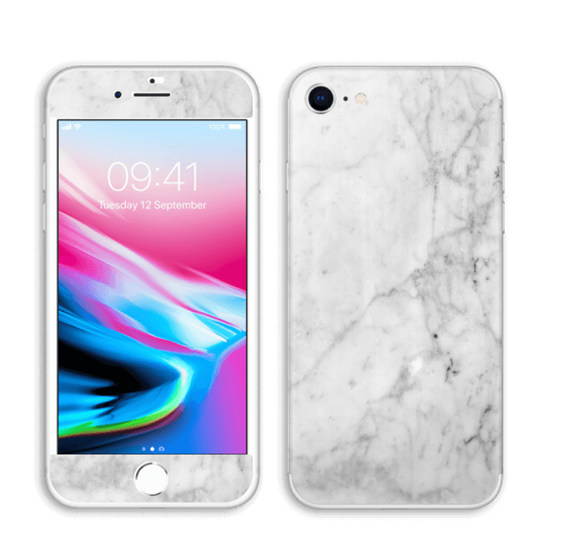 Icy White IPhone 8 Skin