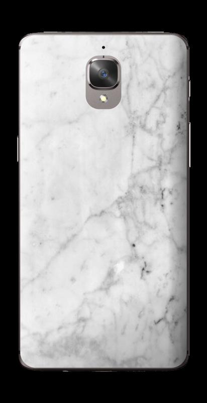 Blanc glacé Skin OnePlus 3