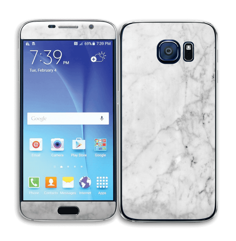 Icy Marble Skin Galaxy S6