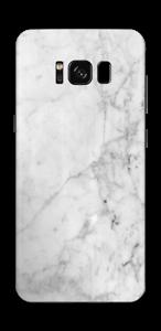 氷のようなマーブル スキンシール Galaxy S8