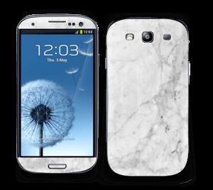 Kold hvid marmor Skin Galaxy S3