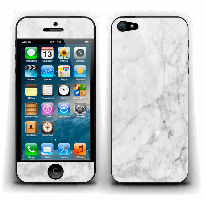 Icy Marble Skin IPhone 5