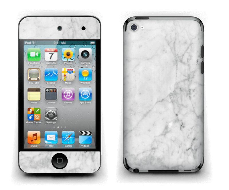 Icy Marble Skin IPod Touch 4th Gen