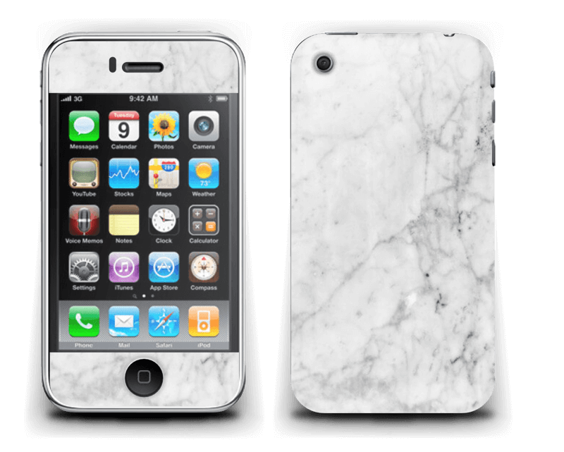 Icy Marble Skin IPhone 3G/3GS