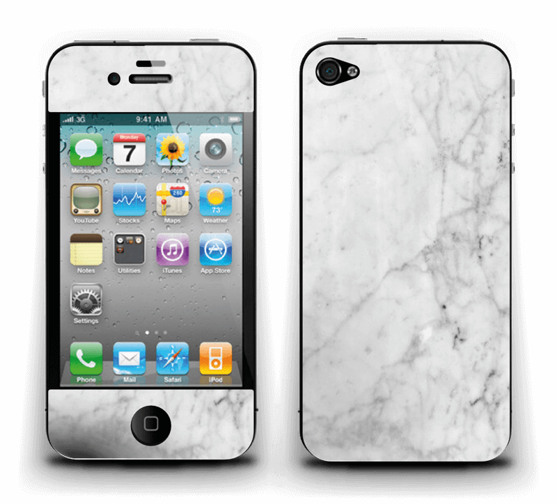 Icy Marble Skin IPhone 4/4s