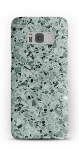 Terrazzo grau Handyhülle Galaxy S8