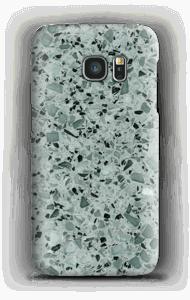 Terrazzo grau Handyhülle Galaxy S7