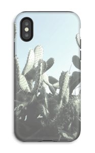Kaktus kuoret IPhone X tough