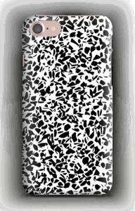 Grafisk Terazzo i svart og hvit deksel IPhone 7